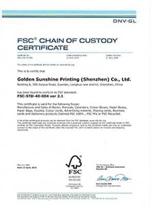 FSC | Printing China