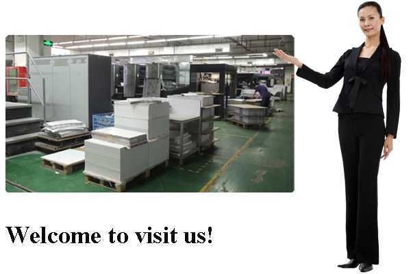 welcome page of CBP PRINTING company