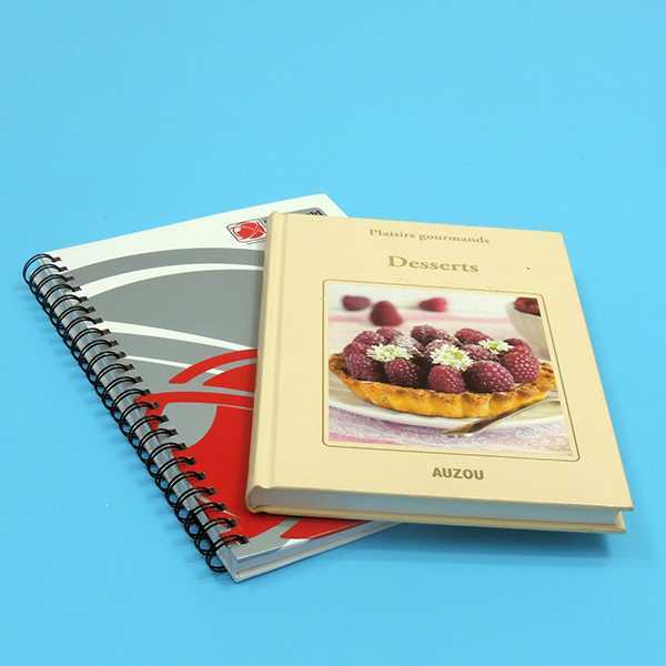 spiral book printing services