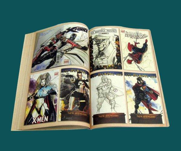 comic books printing services